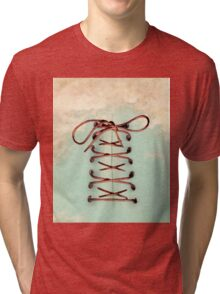 lace up the sky Tri-blend T-Shirt