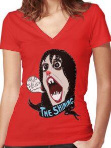 Hello, I'm Shelley Duvall Women's Fitted V-Neck T-Shirt