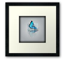 Trapped in Ice Framed Print