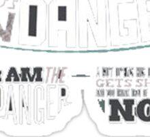 Heisenberg- The One Who Knoks Sticker