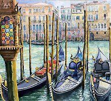 Italy Venice Lamp by Yuriy Shevchuk