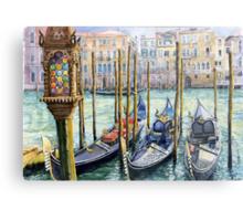 Italy Venice Lamp Metal Print