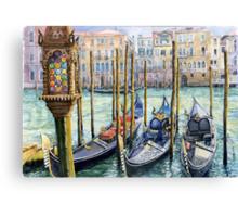Italy Venice Lamp Canvas Print