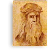 da Vinci Canvas Print