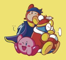 Kirby, Metaknight, Sailor (Waddle) Dee and King Dedede by Hunter-Blaze