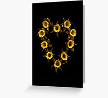 Daffodil / Jonquil ~ Narcissus in Love Greeting Card
