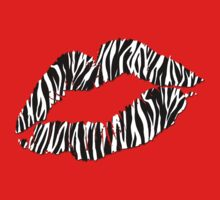 Kissy Lips - Zebra by cpotter