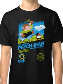 The Amazing Psych-Man!! (and Magic Head) Classic T-Shirt