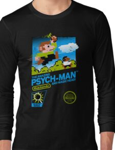 The Amazing Psych-Man!! (and Magic Head) Long Sleeve T-Shirt