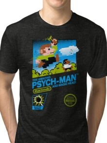 The Amazing Psych-Man!! (and Magic Head) Tri-blend T-Shirt