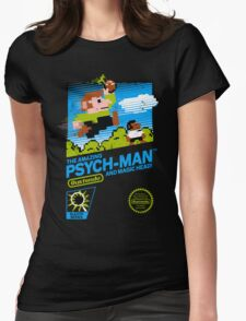 The Amazing Psych-Man!! (and Magic Head) Womens Fitted T-Shirt