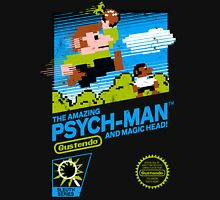 The Amazing Psych-Man!! (and Magic Head) Unisex T-Shirt