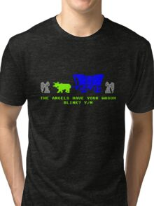 The Angels Have Your Wagon Tri-blend T-Shirt