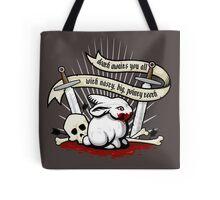 The Rabbit of Caerbannog Tote Bag