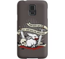 The Rabbit of Caerbannog Samsung Galaxy Case/Skin