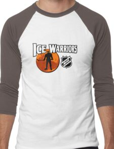 Ice Warriors - Martian Hockey League Men's Baseball ¾ T-Shirt