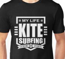My Life Kitesurfing B&W Unisex T-Shirt