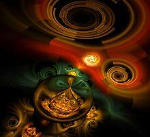 Loonie Swirls by Virginia N. Fred