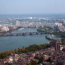 Boston Aerial View by TWCreation