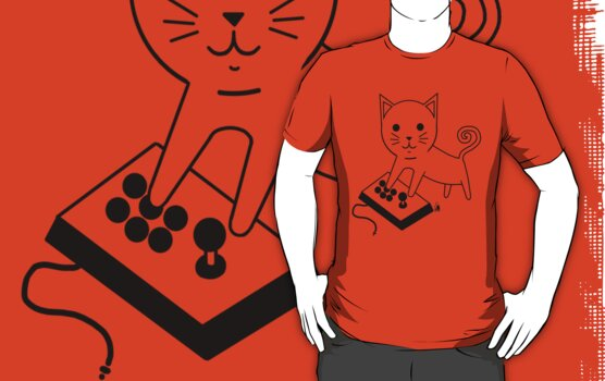 Arcade Kitten by PengewApparel