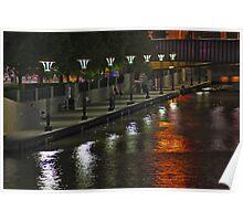 Yarra River Quai Poster
