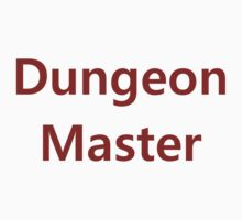 Dungeon Master by silverdragon