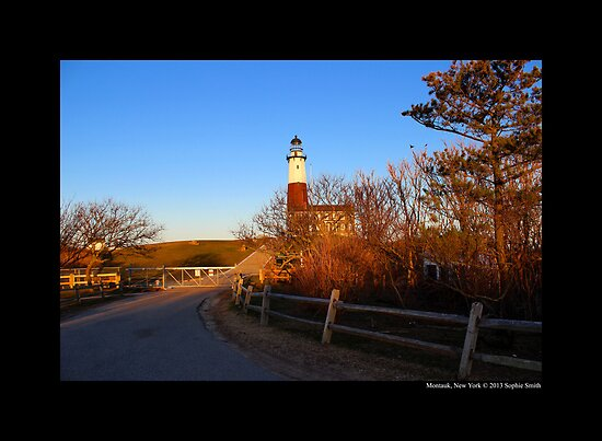 Montauk Point Lighthouse - Montauk, New York  by © Sophie W. Smith