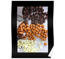 Nestle Premier White, Butter-Scotch, And Milk Chocolate Morsels  Poster
