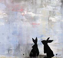 Dandelion Bunnies by Katie Robinson