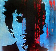 Bob Dylan by Katie Robinson