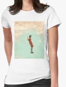 Lucy in the Sky Womens Fitted T-Shirt