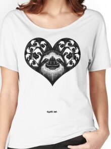 A Slothy Heart Women's Relaxed Fit T-Shirt