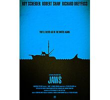 "Movie Poster - ""JAWS"" Photographic Print"