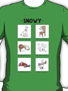 Snowy Meme T-Shirt