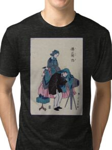 French photographer in old Yokohama 001 Tri-blend T-Shirt