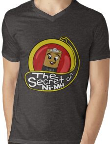 The Secret of Ni-MH Mens V-Neck T-Shirt