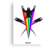 Sloth Rainbow Canvas Print