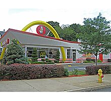 Old Style Golden Arches in Bethlehem, PA, USA Photographic Print
