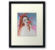 Lana Del Rey Framed Print