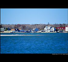 View On Smith Creek - Hampton Bays, New York by © Sophie W. Smith