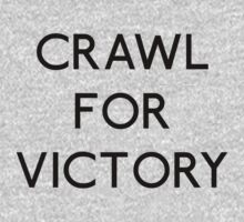 Crawl For Victory Baby Tee