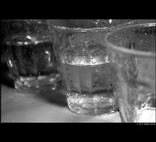 Vintage Drinking Glasses  by © Sophie W. Smith