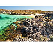 Bus at Salmon Bay - Rottnest Photographic Print