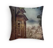 The Old Turret House Throw Pillow
