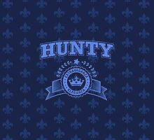 Hunty - Navy Blue by feastoffun