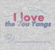 I love the You Yangs - dark background 2 Baby Tee