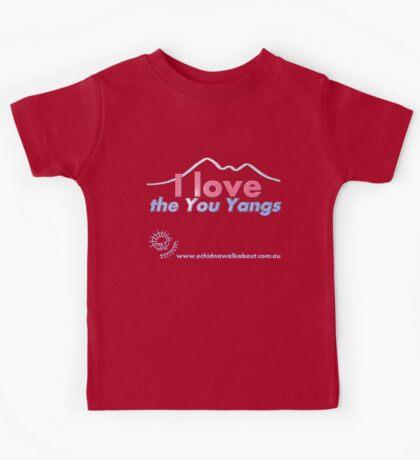 I love the You Yangs - dark background 2 Kids Tee