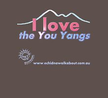 I love the You Yangs - dark background 2 Unisex T-Shirt