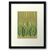 Hot Touch Framed Print
