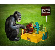 The Chimp Champ Photographic Print